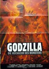 Godjira THE RETURN OF GODZILLA vintage 1 sheet movie poster 1984 Toho