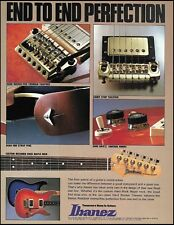 Ibanez Roadstar II Series RS electric guitar 1983 ad 8 x 11 advertisement print