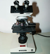 Mikroskop OLYMPUS CH Durchlichtbeleuchtung Binokular Biologie Medizin