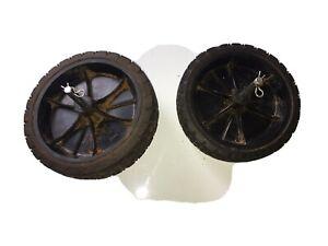 for Weed Eater PowerEdge PE550 ~ OEM Part: Pair of Wheels