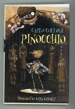 Pinocchio  by Carlo  Collodi First Edition First Printing in Fine Dustjacket- Hi