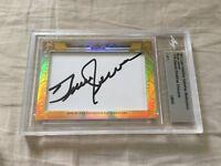 Bruce Jenner 2017 Leaf Masterpiece Cut Signature signed autographed card 1/1 JSA