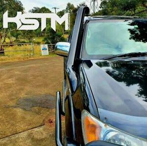 Toyota Hilux stainless snorkel. 2005-2014 seamless/satin black•••