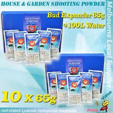 10 BAGS x 65G HOUSE&GARDEN SHOOTING POWDER SACHET HYDROPONIC NUTRIENT ADDITIVE