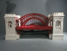 MTH Rail King O Scale Hell Gate Bridge 30-9020 GRAY AND RED O.B.+ SHIPPING BOX.