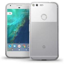 Étuis, housses et coques transparent en silicone, caoutchouc, gel pour téléphone mobile et assistant personnel (PDA) Google