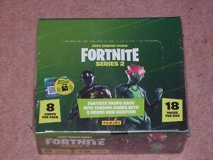 FORTNITE  series 2 one  box of 18 packs unopened sealed
