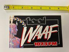 Tool WAAF sticker promo Rare