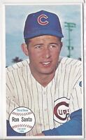 1964 Topps Giants baseball card #58 Ron Santo, Chicago Cubs EXMT+