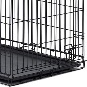 "Dog Crate Tray 29 x 19 In Replacement Pan 30"" Pet Kennel Cage Leak Proof Plastic"