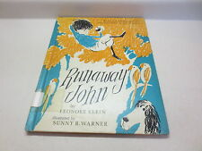 Runaway John by Leonore Klein vintage 1963 Borzoi Book by Alfred A. Knopf hb