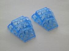 Lego 64867 # 2x Keilstein 4x4 Transparent medium blau 9445 2260