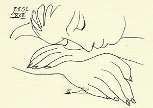 Postkarte: Pablo Picasso - Face of Peace