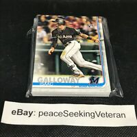 Isaac Galloway - 20x ROOKIE Card Lot BASE 2019 Topps Series 2 #683 Marlins RC