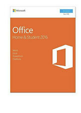 Microsoft Office Home and Student 2016, 1 user, PC Key Card