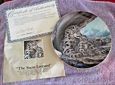 SNOW LEOPARD--# 5232H--WITH PAPERS---W. L. GEORGE--BRADEX--BRADFORD EXCH