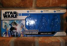 BOX ONLY Star Wars The Legacy Collection Evolutions action figure 2008 pilot vtg
