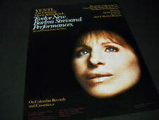 BARBRA STREISAND Yentl - 12 New Performances 1983 PROMO POSTER AD