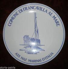 ABRUZZO_CERAMICA BONTEMPO_MARINA_NAVIGAZIONE_MILITARIA_CADUTI_MARE_FRANCAVILLA