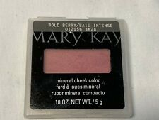 MARY KAY Mineral Cheek Color Blush BOLD BERRY 012956 New .18 Oz SCUFFED