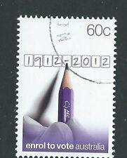 AUSTRALIA 2012 ENROL TO VOTE  FINE USED