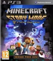 Minecraft: Story Mode - A Telltale Game Series - PS3  - SUPER FAST DELIVERY