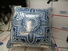 Set Of 2 Pillow Perfect Indoor /Outdoor Throw Pillows 17.5X16.5X6.5 New Other
