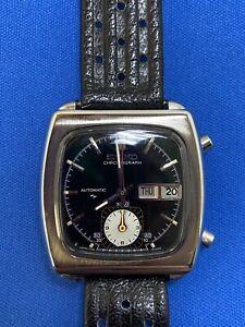 Seiko Automatic Chrono Day & Date Vintage Monaco Model 7016-5000 Pre Owned