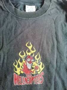 t-shirt the hellacopters XL horror punk glam rock entombed