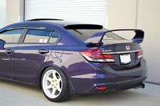 HIC USA 2012 to 2015 Civic 4dr rear roof window visor spoiler (New Generation 2)