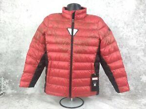 Spyder MARVEL Prymo IRON MAN Puffer Jacket Winter Coat Boys Large ( B-1 )