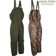 JACK PYKE SALOPETTES MAXIM BIB & BRACE TROUSERS XL WATERPROOF SILENT CAMO