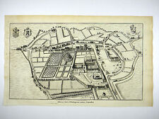 OUDENBURG ABBAYE SAINT-PIERRE D'OUDENBURG BENEDIKTINERORDEN SANDERUS 1735 #D959S