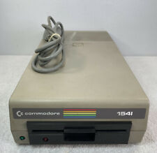 Vintage Commodore 1541 Floppy Disk Drive For Commodore 64 w/ Power Cord As is