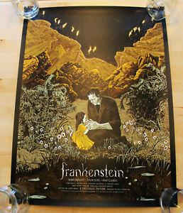 Mondo Frankenstein Variant by Jessica Seamans Limited xx/125 SOLD OUT!