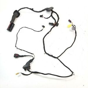 2010-2017 AUDI A5 S5 FRONT LEFT DRIVER SIDE DOOR WIRE CABLE WIRING HARNESS OEM