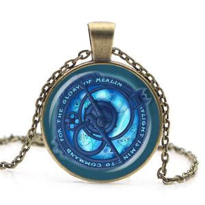 Amulet of Daylight Talisman of Merlin Troll Hunter Magic Power Pendant Necklace