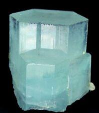 390 Gm Undamaged & Terminated Natural Gemmy Sky Blue Stepped Aquamarine Crystal