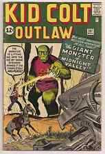 Kid Colt Outlaw #107 1962 Marvel Comic Only Sci-fi Issue In Series, KIRBY!