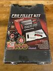Mustad New Pro Fillet 6 Pieces Knife With Case Easy To Carry KVD NIP