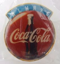 x10 - VINTAGE 1996 ALWAYS COCA COLA FOREVER PINS ~ MADE IN U.S.A.
