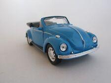 Welly VW Käfer / Blau / Rückzugmotor/Druckgussmodel / 1:39 / OVP / Neu