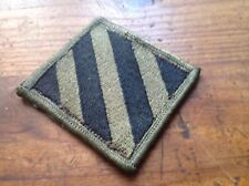 ORIGINAL ARMY (SUBDUED) PATCHES - 3rd INFANTRY DIVISION -  COLLECTABLES