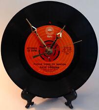 "Recycled DAVE LOGGINS 7"" Record / Please Come To Boston / Record Clock"