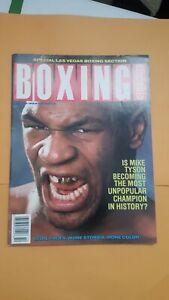 Boxing Illustrated Magazine: Oct. 1988. Mike Tyson.