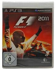 F1 Formula 2011 Sony PlayStation 3 Spiel Neuware Formel 1 Komplett auf Deutsch