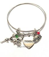Riverdale Bangle Bracciale Jughead Betty Veronica Archie Incisioni Nichel Free