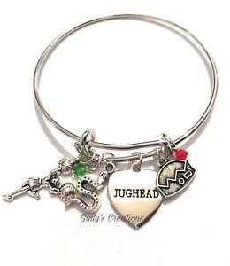 Riverdale Bangle Bracelet Jughead Betty Veronica Archie Engraved Nickel Free