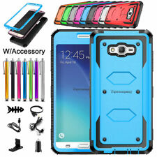 For Samsung Galaxy J7 J700/J7 2015 Shockproof Protective Case Cover+Accessories