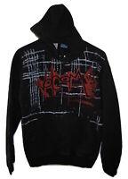 Volcom Mens Black Hoody Hoodie Skate Skateboard emo Sweatshirt Jacket S Small